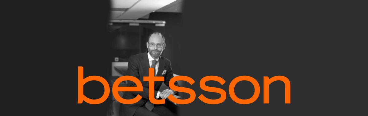 Betsson's CEO Pontus Lindwall (bron: https://www.betssonab.com/en/group-management)