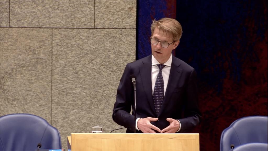 Minister voor Rechtsbescherming Sander Dekker in het Besluit Kansspelen op afstand-debat van 18 juni 2020.