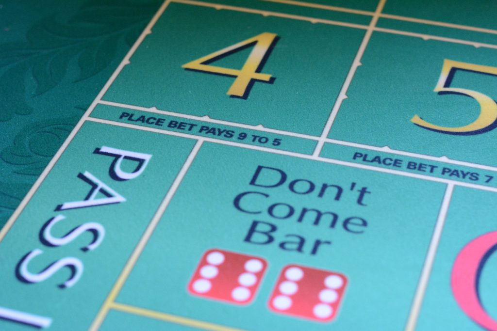 Craps Don't Come Bar (bron: thoroughlyreviewed.com)