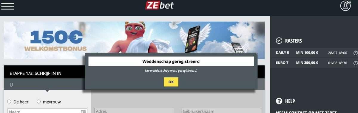 Bedrijf achter Runnerz breekt gedoogcriteria met zusterbedrijf ZEbet.com