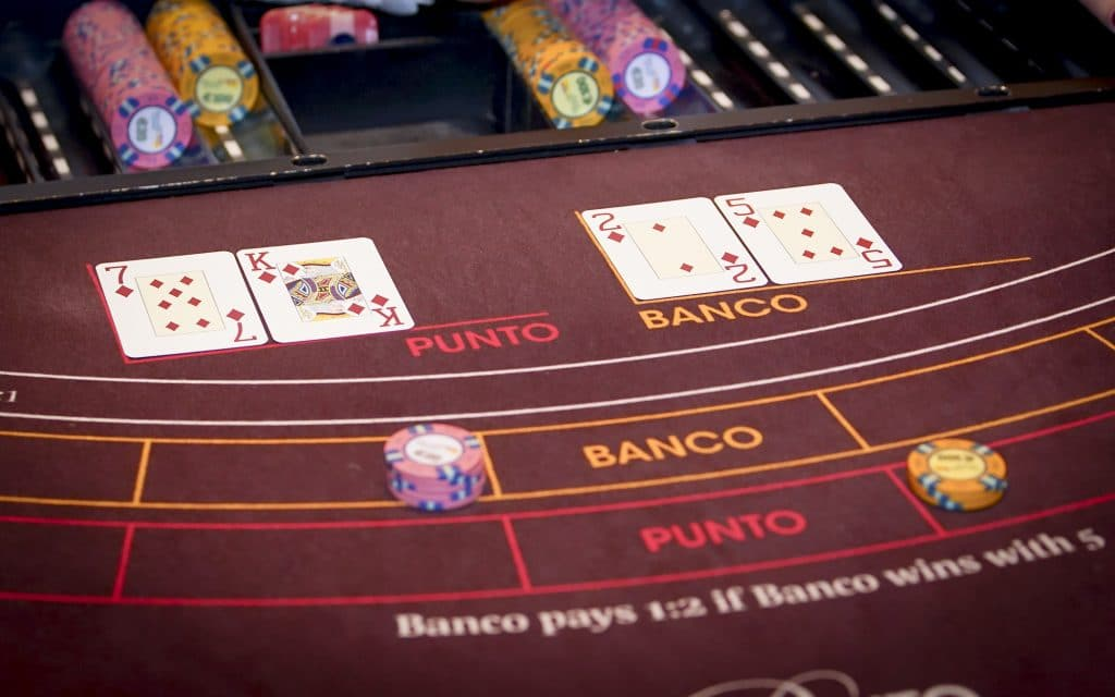 Holland Casino punto banco baccarat 7 voor Punto tegen 7 voor Banco egalité