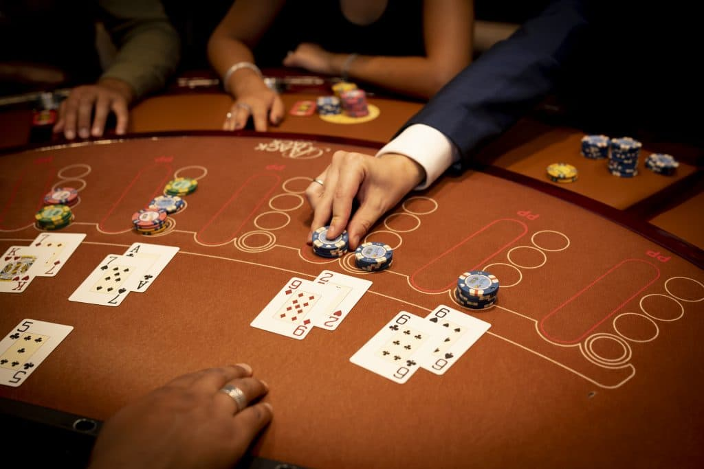 Holland Casino Blackjack dubbelen 11 92 geld bijleggen