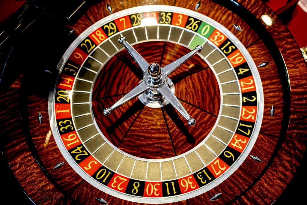 Holland Casino Roulette wiel cilinder
