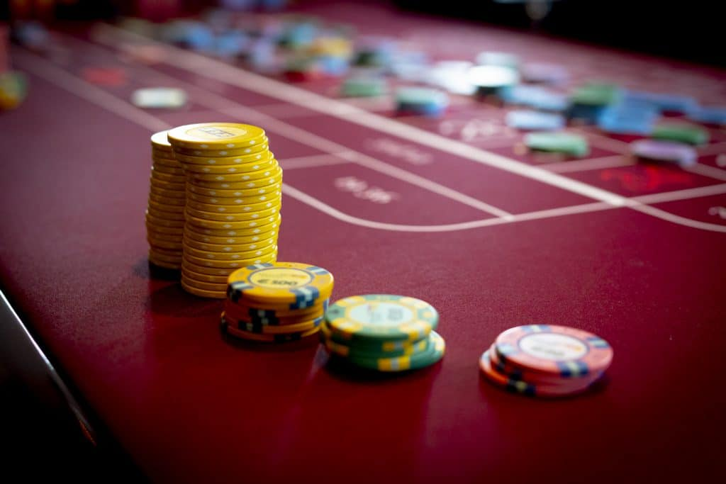 Holland Casino Roulette chips fiches