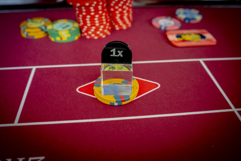 Holland Casino Roulette rood red €200 1x