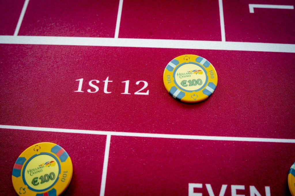 Holland Casino Roulette 1st 12 dozen dozijn