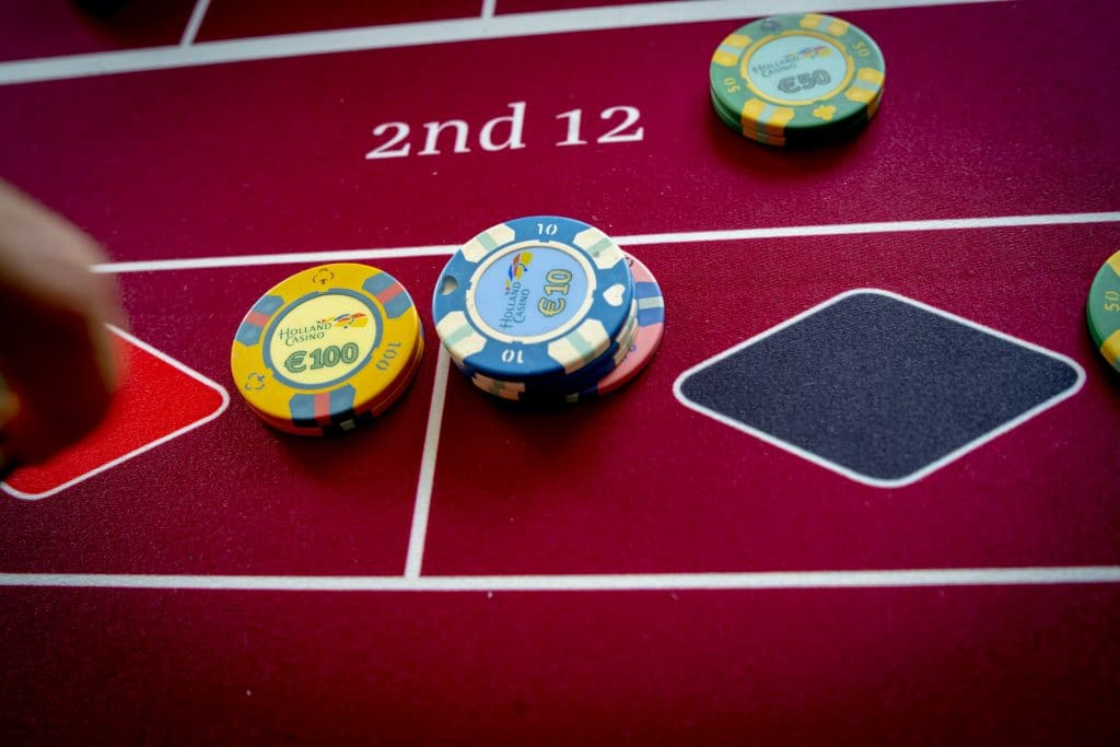Holland Casino Roulette zwart noir black