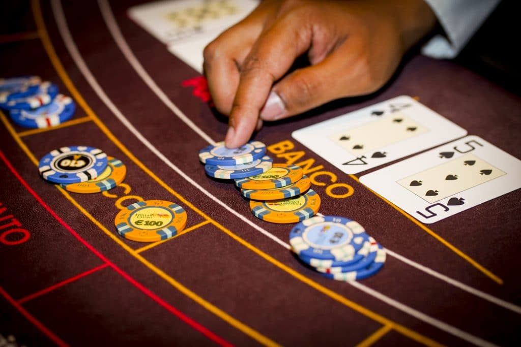 Holland Casino punto banco baccarat uitbetaling chips Banco