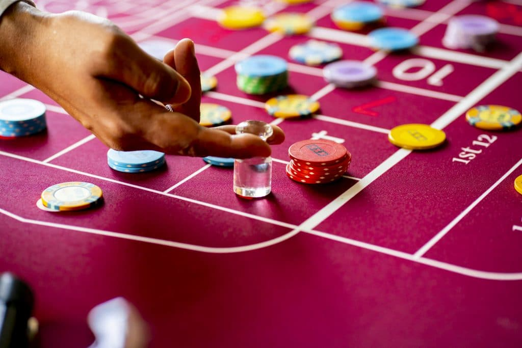 Holland Casino Roulette marker dolly volle tafel