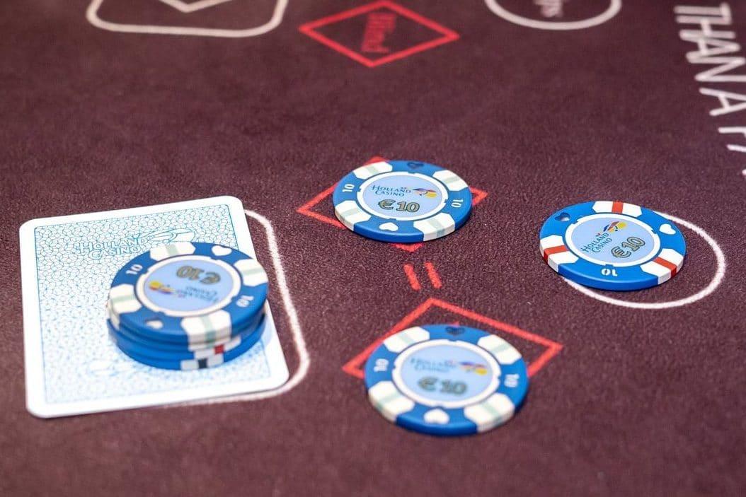 Holland Casino Ultimate Texas Hold'em Royal inzet voor de flop preflop €40