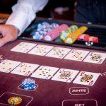 Holland Casino Multi Poker Caribbean Stud Poker vrouw-boer hoog tegen koning-tien hoog no hand voor de bank