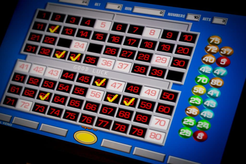 Holland Casino bingo slot