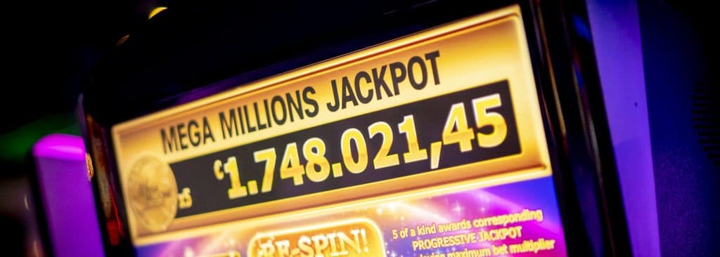 Holland Casino slots, speelautomaat, gokkast, slotmachine, Mega Millions Jackpot, €1,7 miljoen