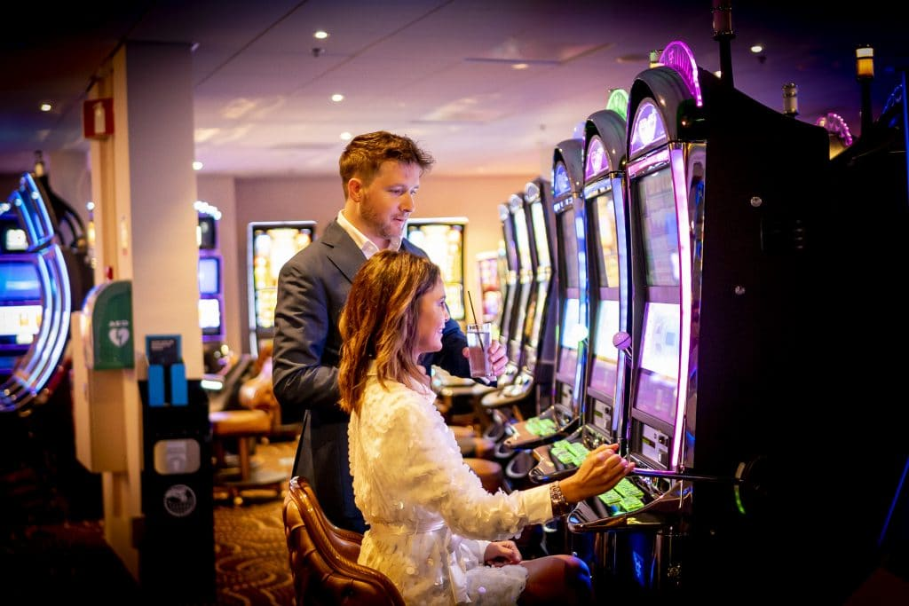 Holland Casino slots, speelautomaat, gokkast, slotmachine, one-armed bandit