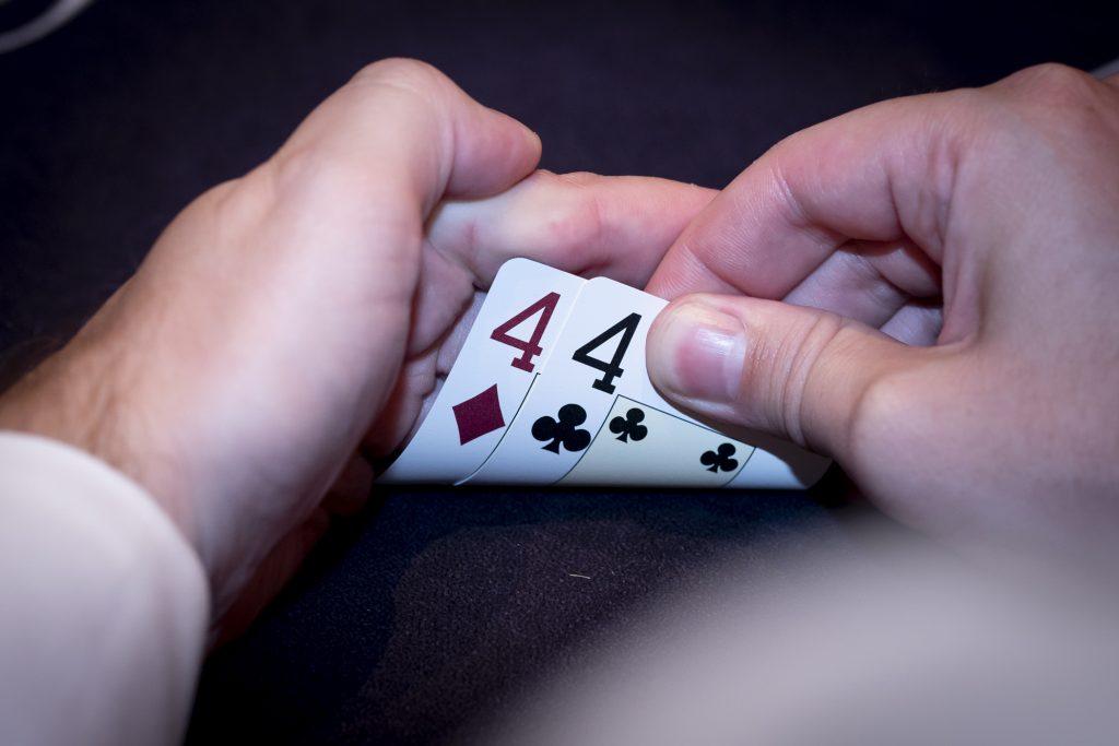 Holland Casino poker pocket vieren 44 4d4c