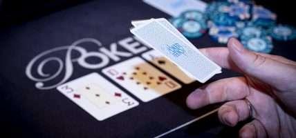 Holland Casino poker cashgame fold