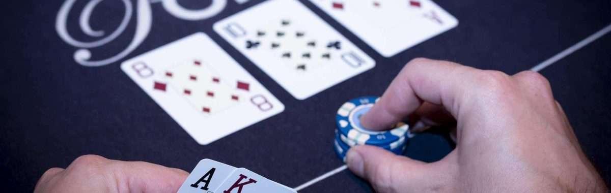Holland Casino poker valuebet AK op 810A 8TA bet