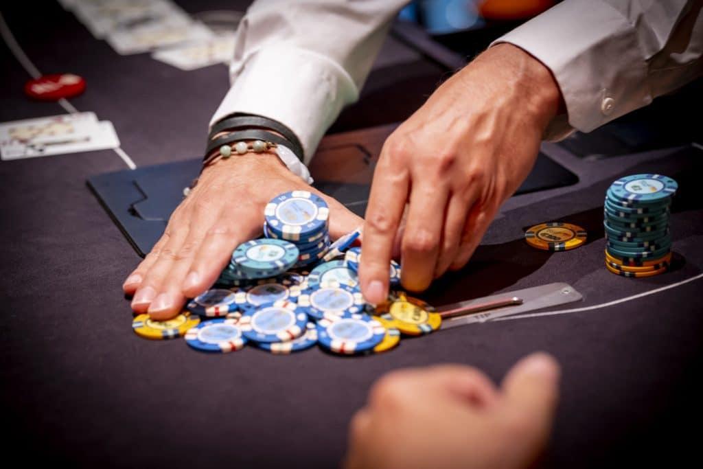 Holland Casino poker allin en winst pot shove