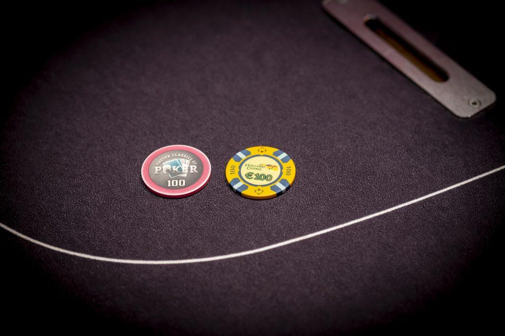 Holland Casino cashgame en toernooi chip €100 100