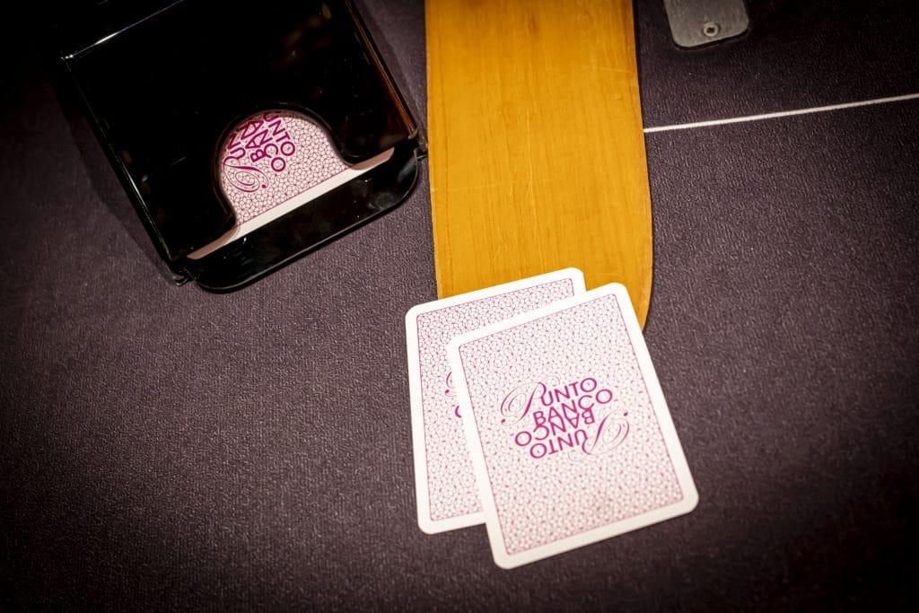 Holland Casino baccarat pallet punto banco