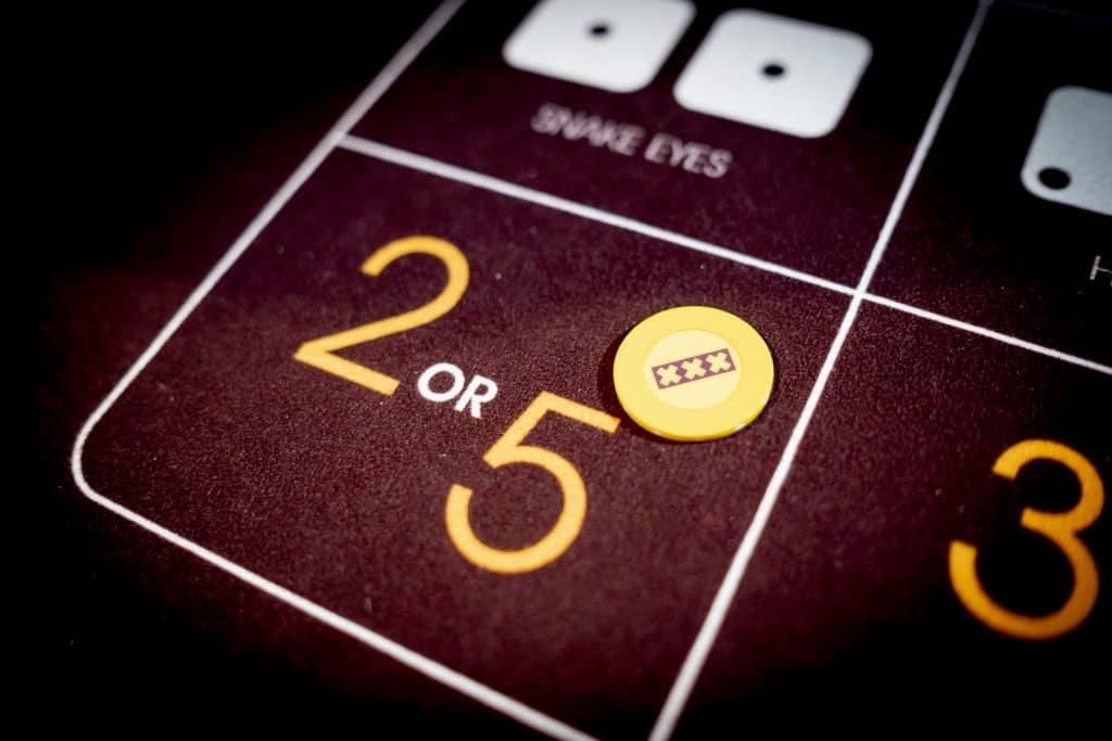 Holland Casino Diceball 2 or 5