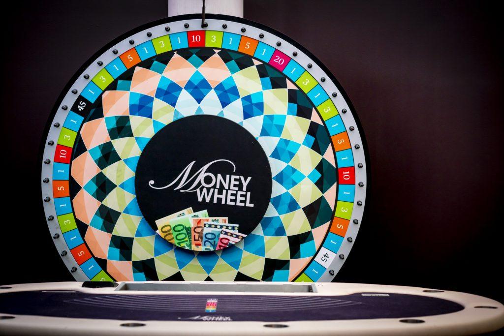 Holland Casino Money Wheel MoneyWheel wiel en tafel