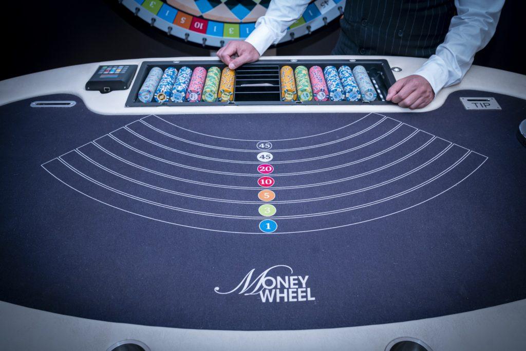Holland Casino Money Wheel MoneyWheel tafel