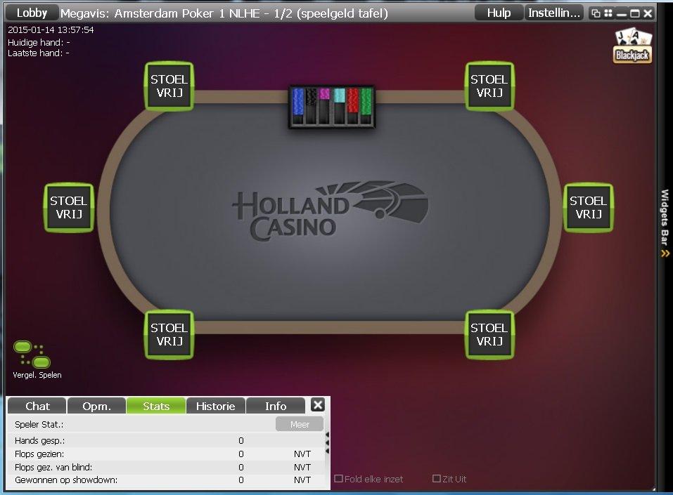 Holland Casino gaat ook een online casino starten. Al vroeg lieten ze een ontwerp voor een onlinepokertafel zien.