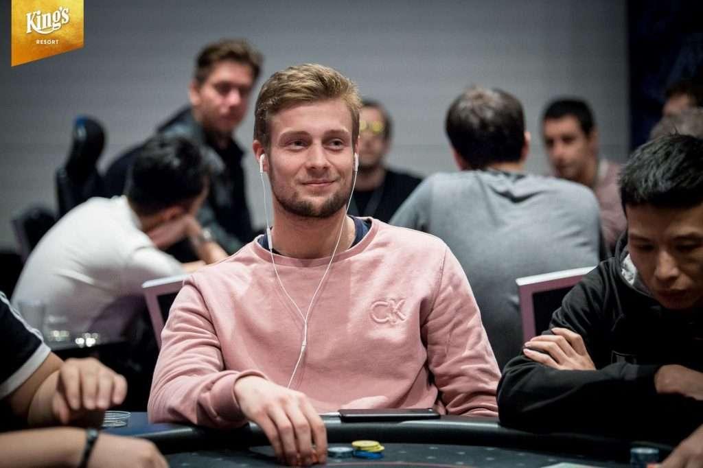 Teun Mulder in Rozvadov tijdens de WSOP Europe