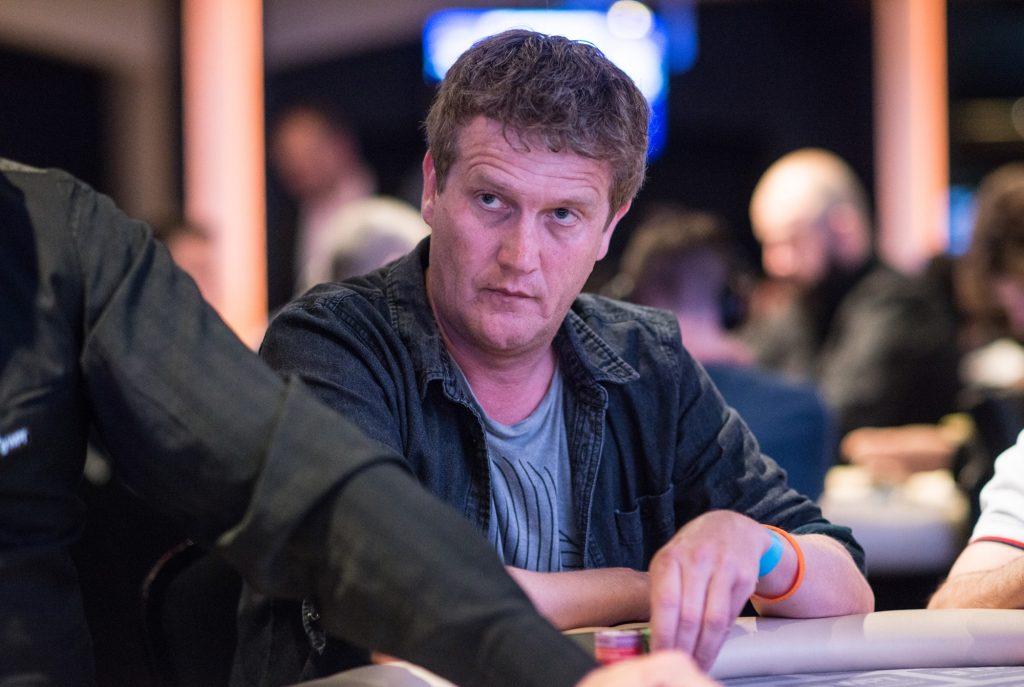 Alberto Stegeman tijdens de World Poker Tour in Amsterdam.