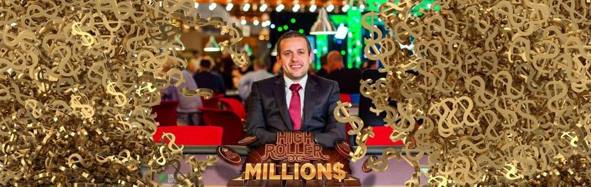 Kenny Hallaert wint $185.000 in High Roller MILLION$