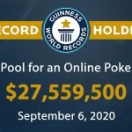 GGpoker WSOP Main Event online Guinnes Book of Records