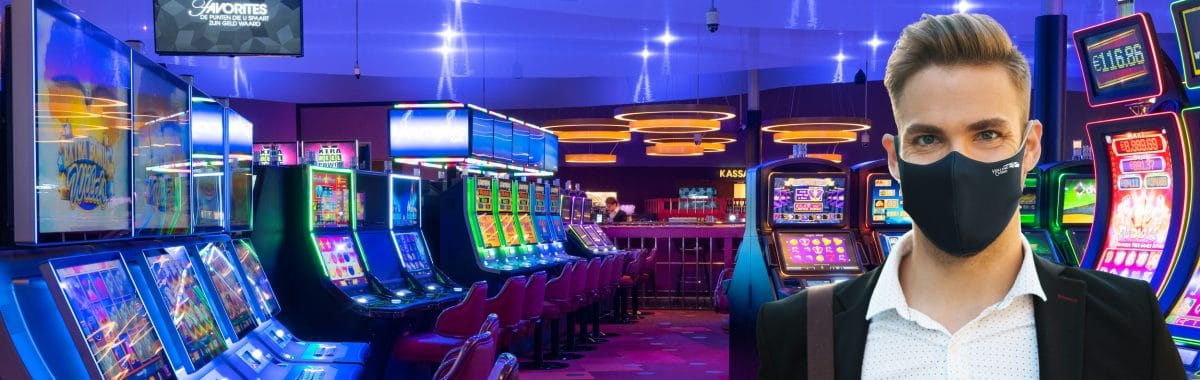 Mondkapjes vanaf morgen verplicht in het casino