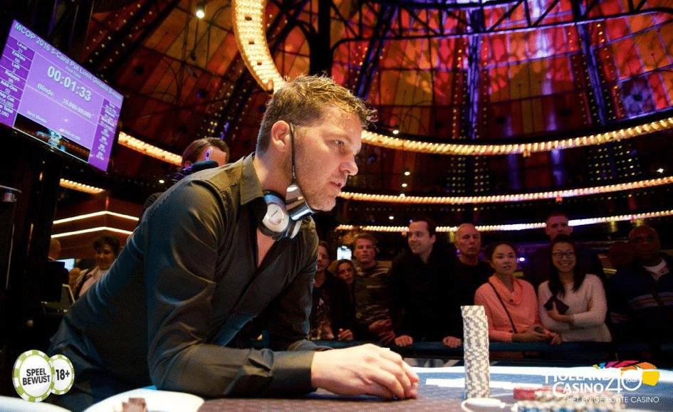 Rolf Slotboom speelde nog vaak recreatief, zoals hier in 2016 op de MCOP in Amsterdam.