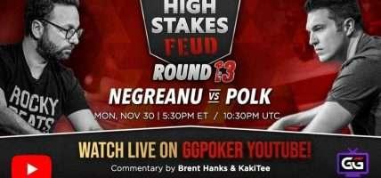 Negreanu stopt reeks van Polk en boekt kleine winst