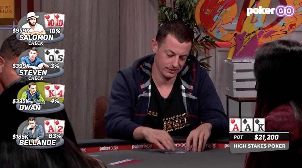Tom Dwan in High Stakes Poker s08e03
