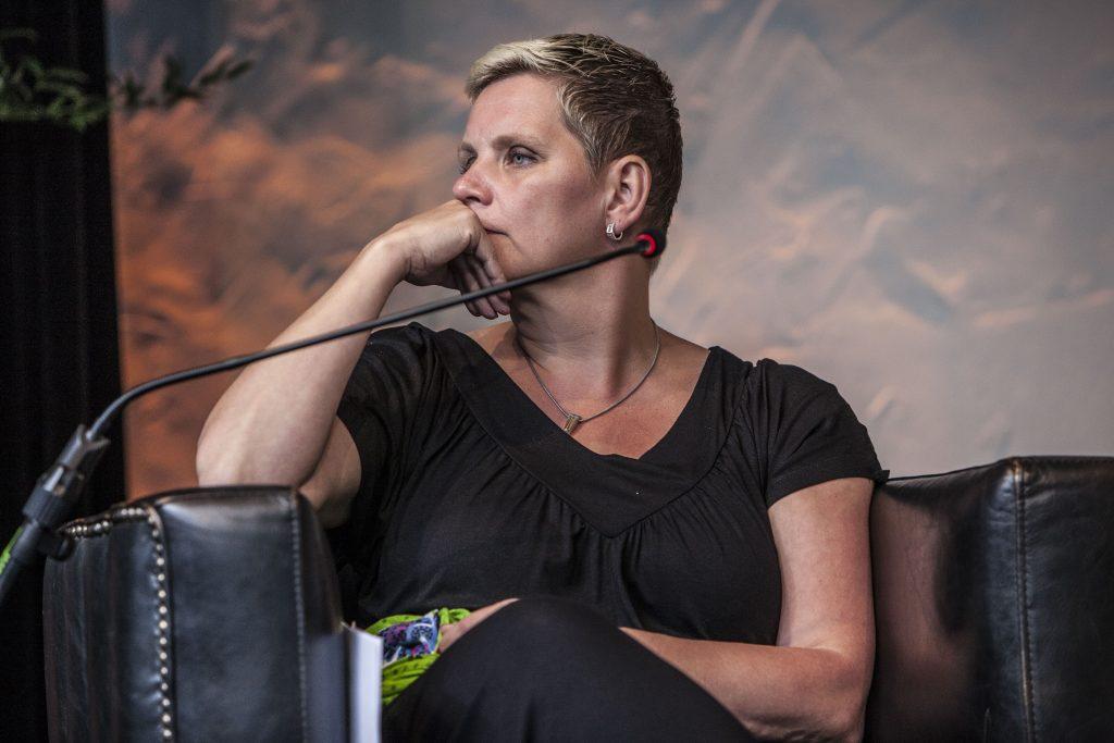Yvon Jansma tijdens Gaming in Holland 2019