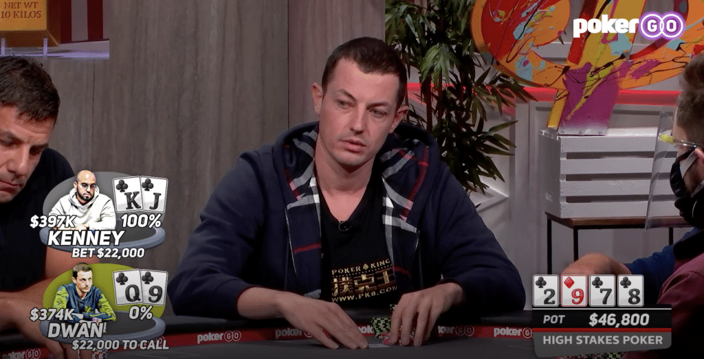 Flush over flush voor Bryn Kenney tegen Tom Dwan in HSP s08e03