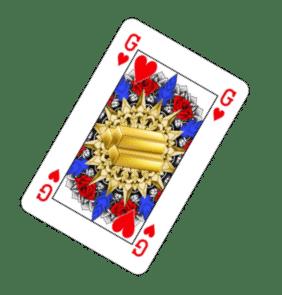 Genderneutraal kaartspel: geen koning maar goud.