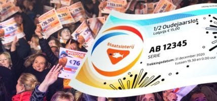 PostcodeKanjer Oudejaarstrekking StaatsLoterij Postcode Loterij