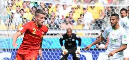 Belgische team WK 2014