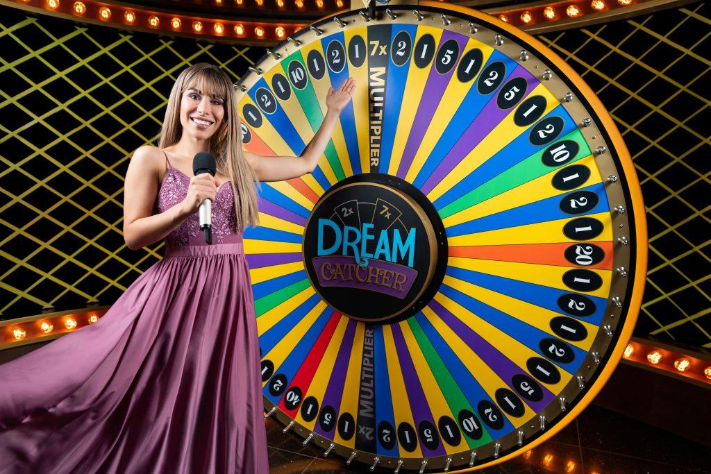Evolution Live Casino Dream Catcher