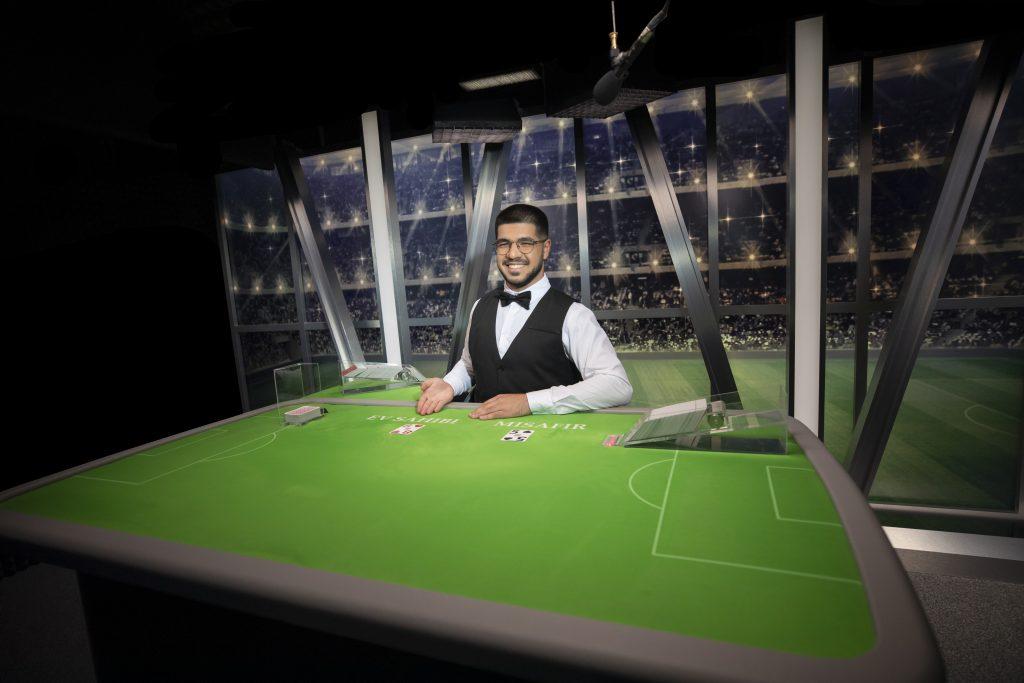 Evolution Live Casino Football Studio