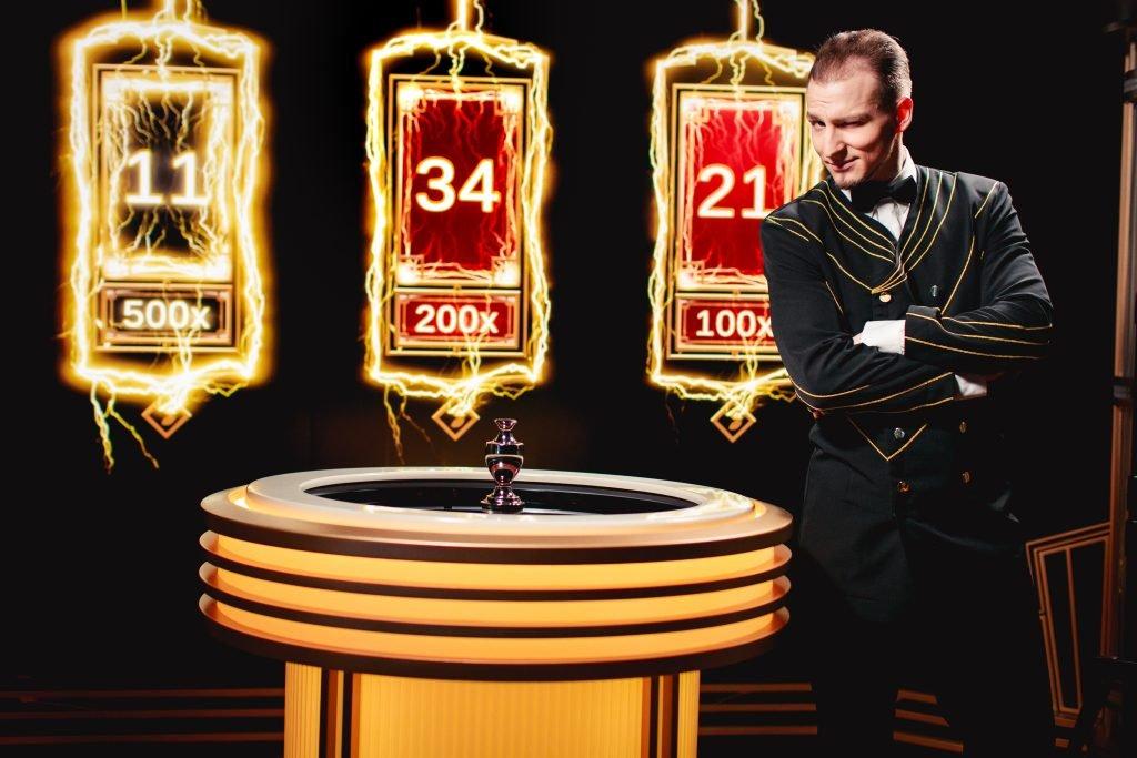 Evolution Live Casino Lightning Roulette