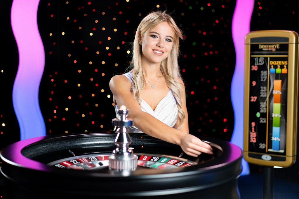 Evolution Live Casino Roulette