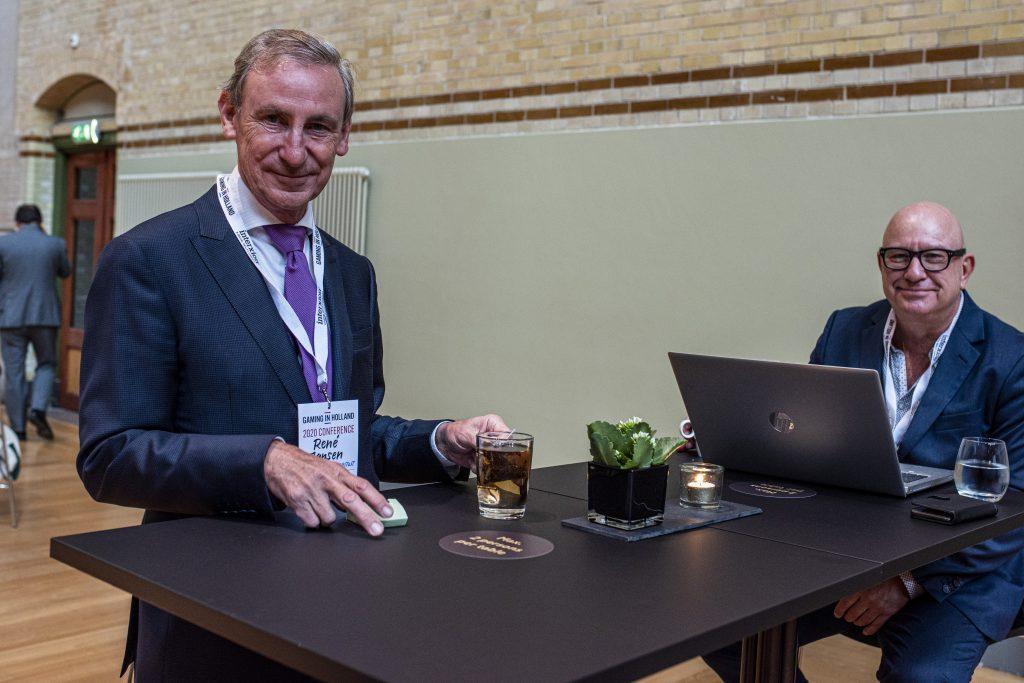 René Jansen tijdens Gaming in Holland 2020