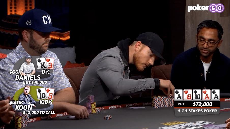 Jason Koon over High Stakes Poker