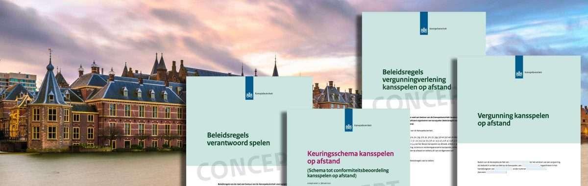 Kansspelautoriteit publiceert Beleidsregels, Keuringsschema, Modelvergunning