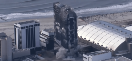 Trump Plaza Atlantic City gesloopt
