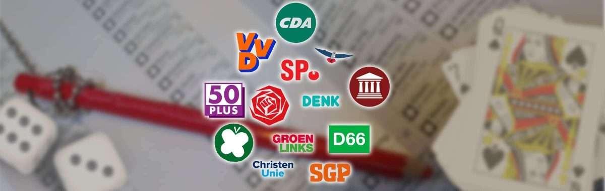 Tweede Kamerverkiezingen: wat vinden de politieke partijen op het gebied van kansspelen?